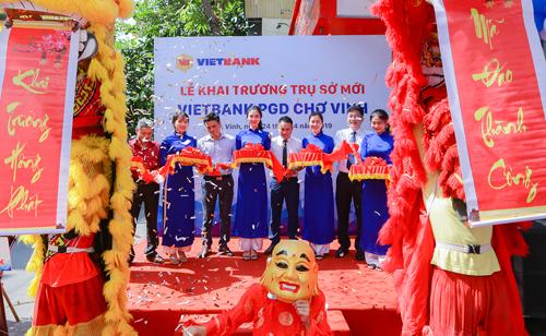Lễ khai trương trụ sở mới Vietbank PGD Chợ Vinh