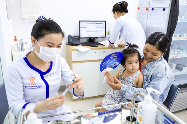 VNVC đã sẵn sàng phục vụ khi vaccine Covid-19 về Việt Nam. Ảnh: P.Lan.
