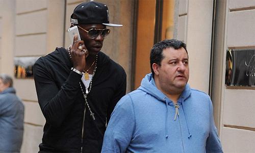 Raiola nổi cáu vì Balotelli không được gọi vào tuyển Italy