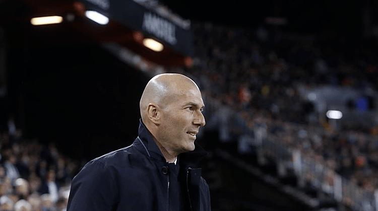 Zidane tự tin với tương lai tại Real. Ảnh: AP.