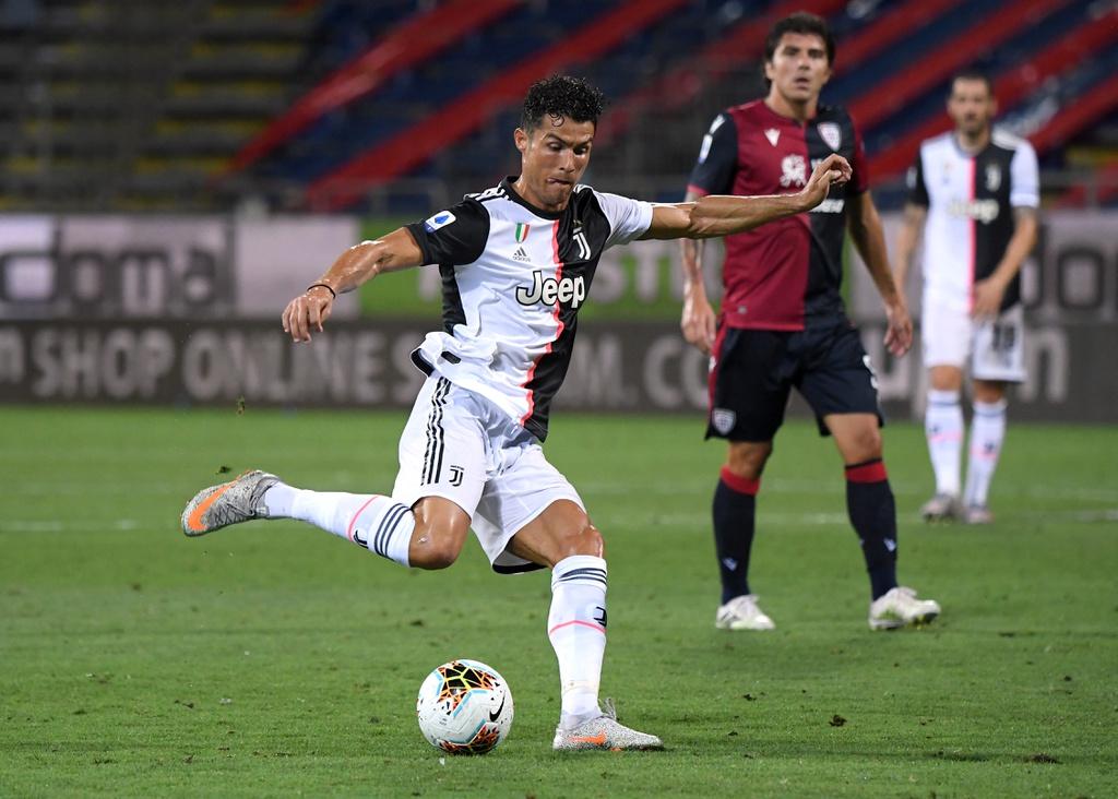 Ronaldo tịt ngòi trước Cagliari - VnExpress Thể thao