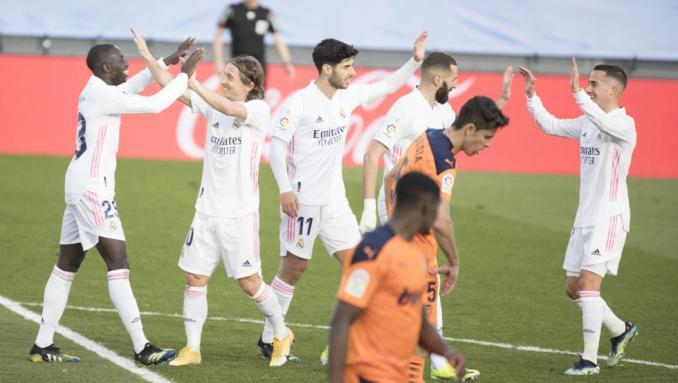 Real đang trở lại cuộc đua vô địch La Liga.