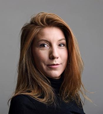 Nữ nhà báo Thụy Điển Kim Wall. Ảnh: SR.