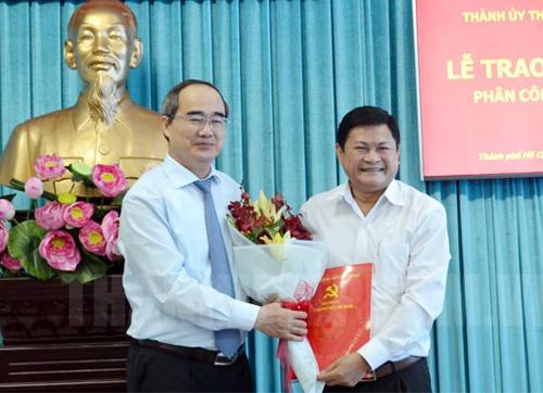Ông Huỳnh Cách Mạng trở lại làm Phó Ban tổ chức Thành ủy TP HCM