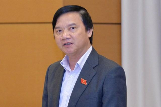 Chủ nhiệm Ủy ban Pháp luật Nguyễn Khắc Định. Ảnh: Trung tâm báo chí QH