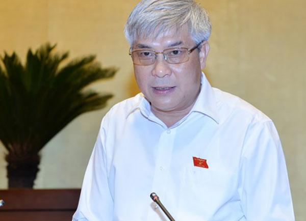 Ông Nguyễn Đắc Quỳnh, Phó Bí thư Thường trực Tỉnh ủy, Trưởng Đoàn đại biểu Quốc hội tỉnh Sơn La. Ảnh: Quốc hội