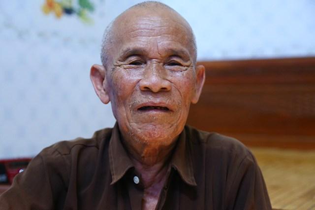 Ông Trần Văn Thêm. Ảnh: Phạm Dự.