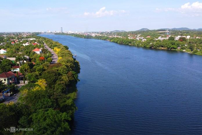 Cảnh quan hai bờ sông Hương được quy hoạch chi tiết. Ảnh: Võ Thạnh