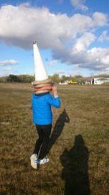 Nick ruimt het veld op. Foto: Jimmy
