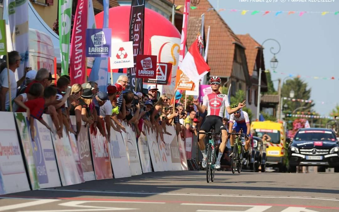 Victoire de Gino Mäder en Alsace !