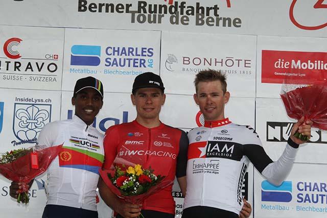 Fabian Lienhard 3ème du Berner Rundfahrt