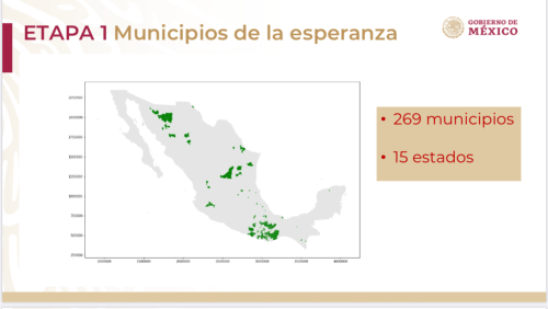 Municipios 'de la esperanza' a partir del 18 de mayo