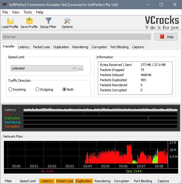 SoftPerfect Connection Emulator Crack