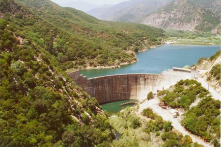 The Matilija Dam as it appeared several years ago.