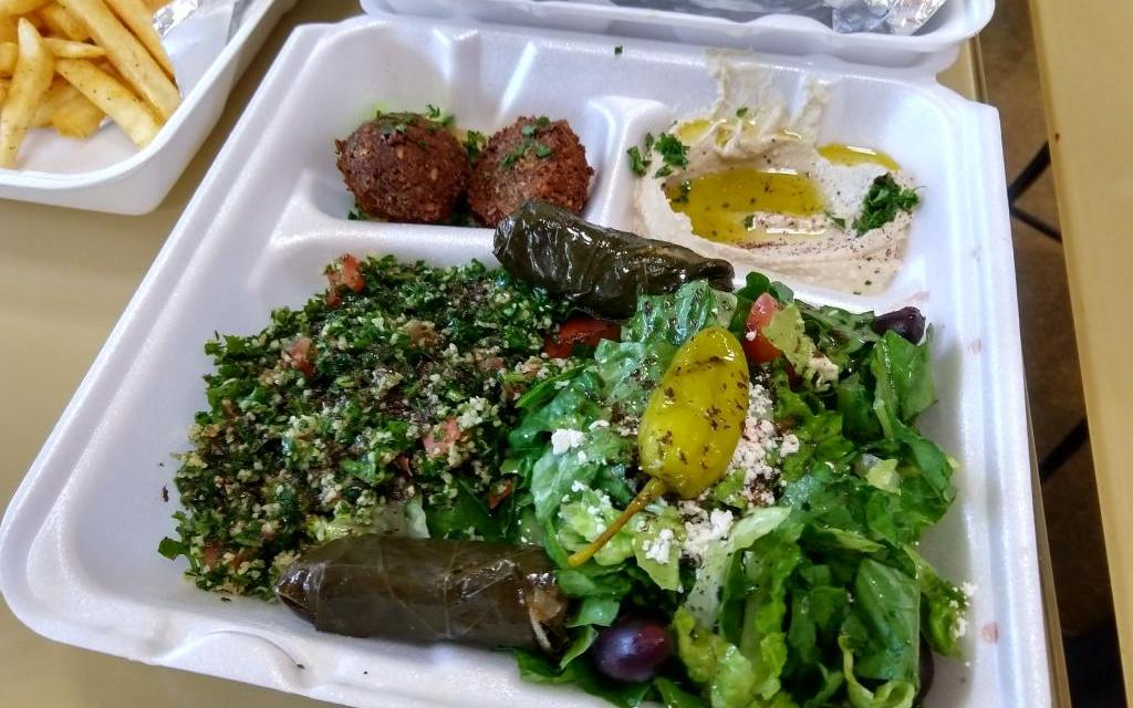 Great falafel in an unlikely place