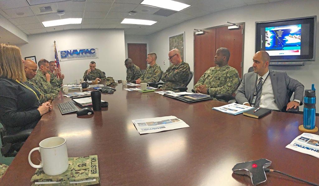 PLANET VENTURA COUNTY | Major General visits Naval Base Ventura County