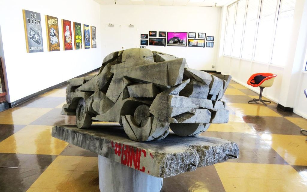 ART IN THE FAST LANE | The new Fireball Gallery zooms into the Murphy Auto Museum