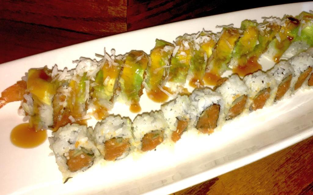Crouching tiger, hidden dragon roll