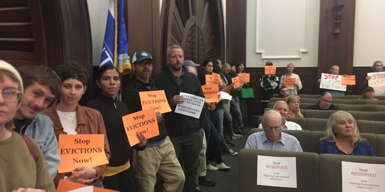"""""""DO THE RIGHT THING""""   Ventura moves to stop no-fault evictions"""