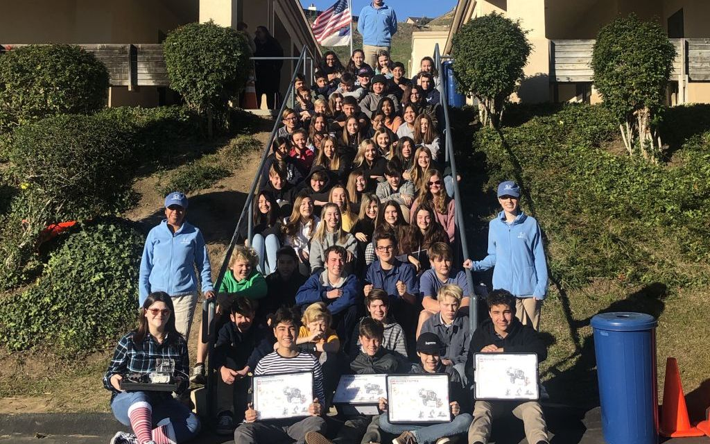 THE SKY'S THE LIMIT   Ventura Missionary School students design experiment destined for the International Space Station