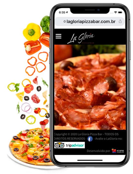 Criação de Site Pizzaria 1