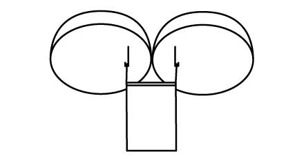 くす玉の垂れ幕の取付方