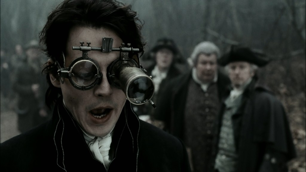 Johnny Depp as Ichabod Crane