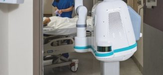 Meet Moxi, a robotic nurse assistant with heart eyes