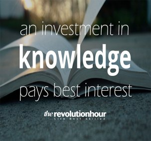 An investment in knowledge pays best interest