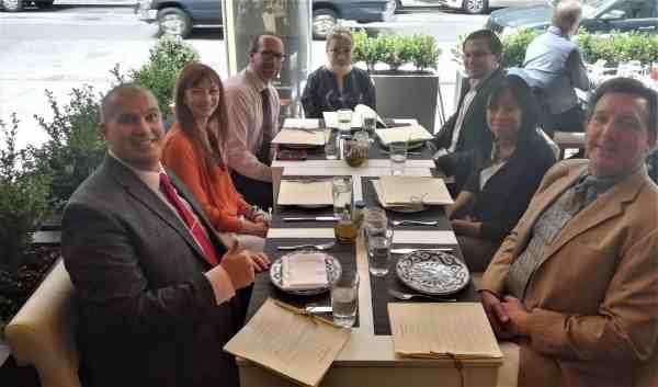 New York Venture Capital World Summit Lunch Networking