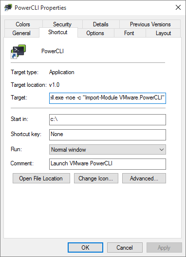 PowerCLI 5