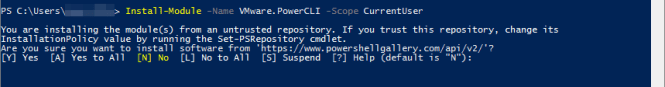 PowerCLI 2