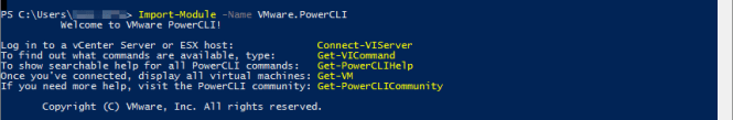 PowerCLI 4