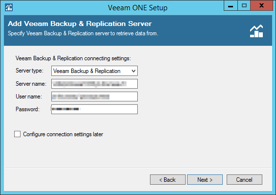 Veeam ONE step 12