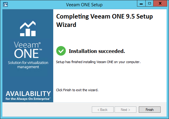 Veeam ONE step 16