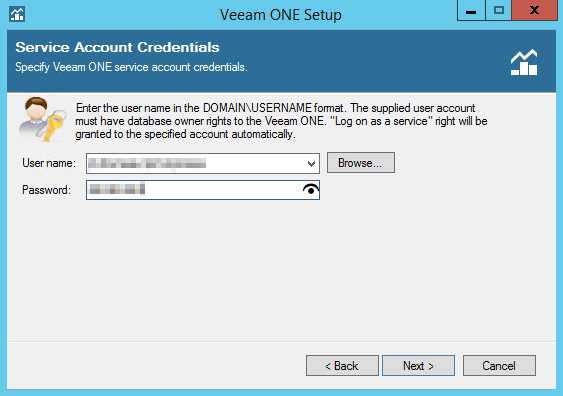 Veeam ONE step 6