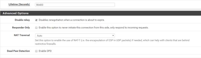 VPN IPsec site-à-site avec pfSense