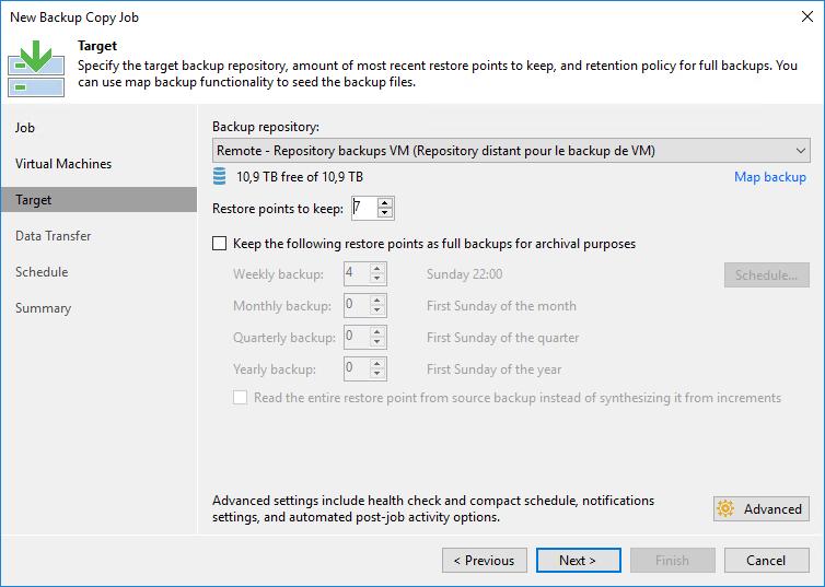 TUTO] - Veeam : Configure Backup Copy Job with WAN