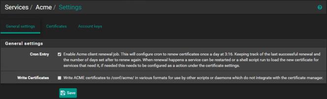 pfSense : Créez et gérez vos certificats LetsEncrypt avec l'API OVH