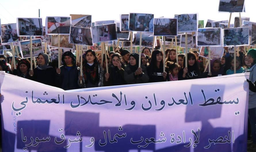 Suriye İtilafı, savaş suçu işleyen Türk devletine bağlı çete gruplarının ortaklığını yapıyor