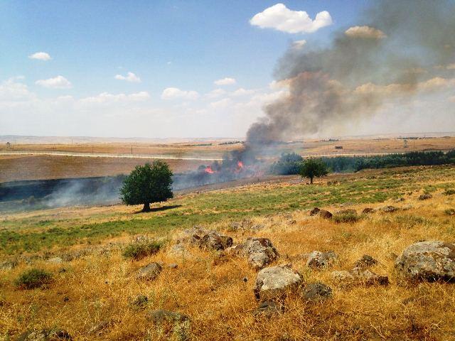 عفرين: استمرار حرائق سد ميدانكي