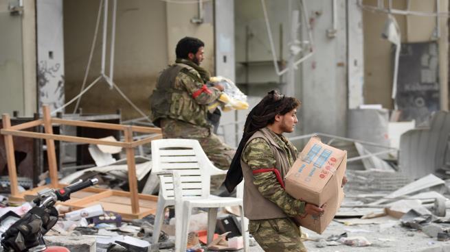 عفرين: مقتل وإصابة أكثر من 14 مقاتلاً خلال اقتتال جديد بين فصائل مدعومة تركياً