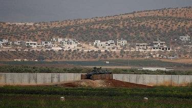 إدلب: تركيا تبدأ ببناء جدار عازل