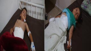 إصابة ثلاثة أطفال بانفجار لغم في ريف حلب الشمالي