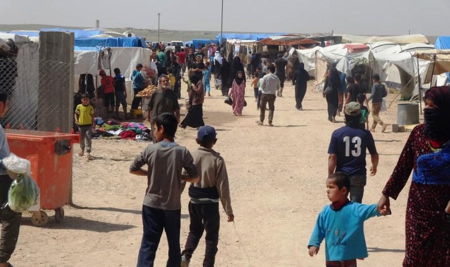 13 ألف نازح في مخيم ببلدة عين عيسى شمالي الرقة