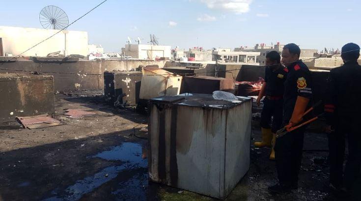 ضحايا في انفجار خزان في مدينة القامشلي