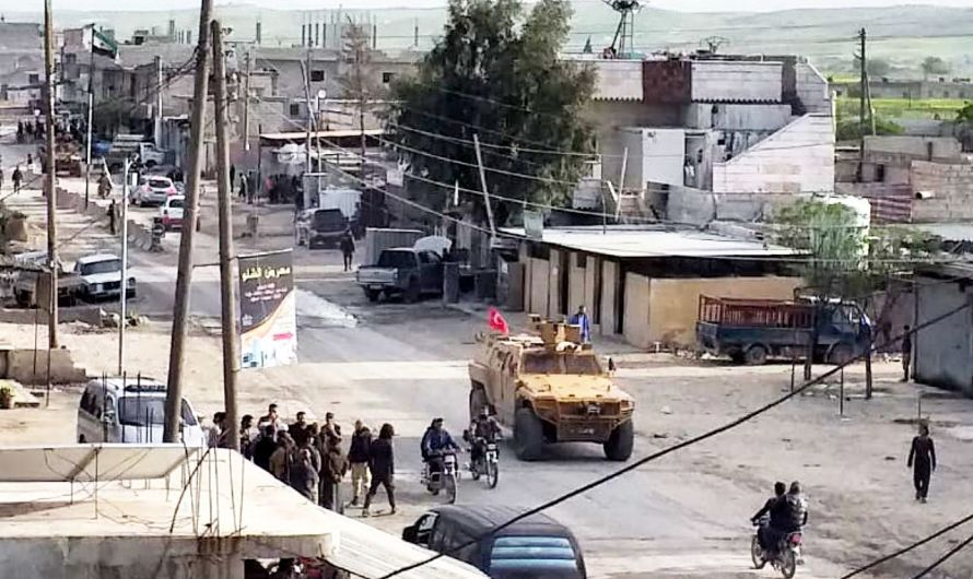 تجدد القصف التركي على قرى بريف حلب