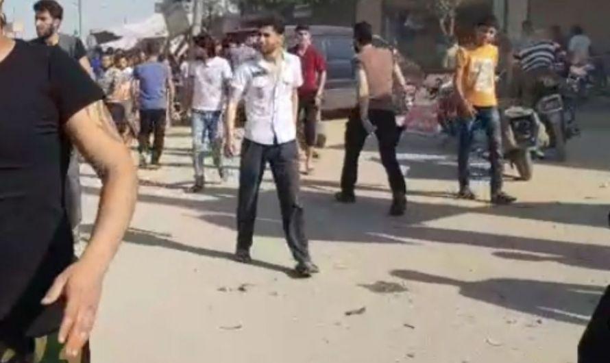 قتلى وجرحى بانفجار دراجة نارية مفخخة في بلدة خاضعة لتركية بريف حلب