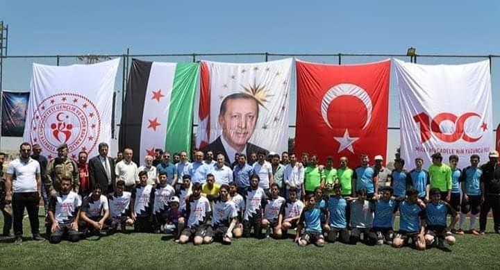 تركية تقوم بتوطين 1500 عائلة فلسطينية في عفرين