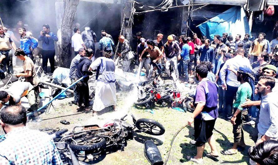 قتلى في سلسلة تفجيرات تهز مناطق في شمال سورية خاضعة لسيطرة تركية